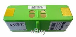 SUPER LONG-LIFE Lithium Li-Ion 4400mAh Replacement Battery for Scooba 450
