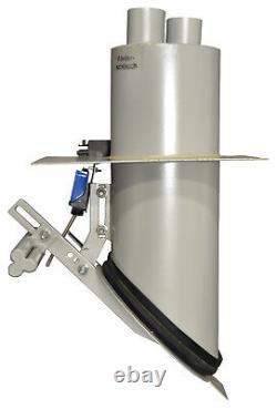 Saugsystem mit Schlauch und Saugsonde, Pelletsaugsystem, Pelletaustragung