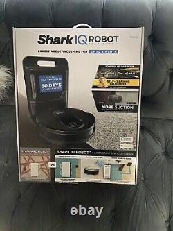 Shark IQ R101AE with Self-Empty Base, Wi-Fi, Home Mapping Robot Vacuum BNIB