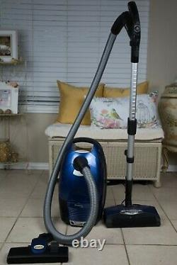 Simplicity Cinch 1 Blue Canister HEPA Filtration Vacuum MSRP $769