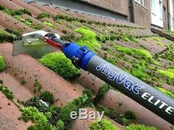 SkyScraper Head, Blades Plus Elite Multi Connector for moss removal on roofs