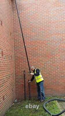 SkyVac Carbon Fibre Half Pole 1 metre length Gutter Cleaning Accessory