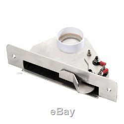 Sockeldüse Kehrleiste Kehrsaugschaufel DECO Kunststoff Metall Zentralstaubsauger