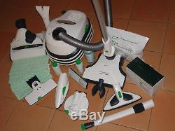 VORWERK KOBOLD VT300 + EB400 + SP530 + PB440 + FD15 + viel Zubehör (NEUWERTIG)