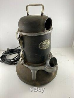 Vintage 1946 Rexair Vacuum Cleaner Model B With Attachments WORKS