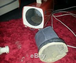 Vintage cylinder vacuums ×2 hoover 427 Electrolux 302