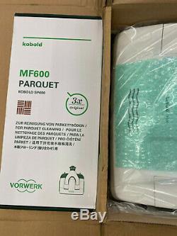 Vorwerk SP600 Set Parquett / Parkett Hartbodenreiniger Saugwischer Koboclean NEU