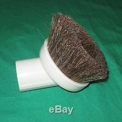 White Horse Hair Deluxe Dust Brush 1.25 Attachment Vacuum Tool Shop Vac 32mm