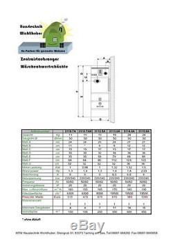 Zentralstaubsauger Zentraleinheit von 100 bis 450 m² oder 4 16 Saugdosen